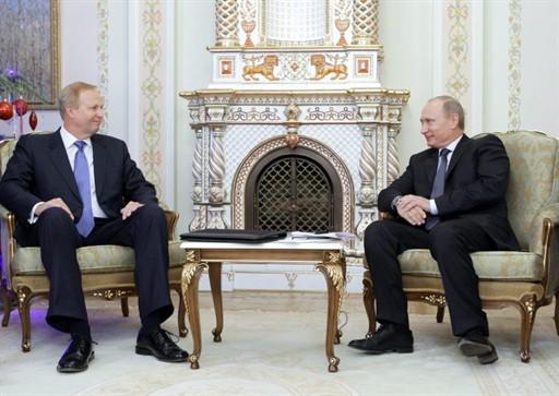Роберт Дадли и Владимир Путин нравятся друг другу.