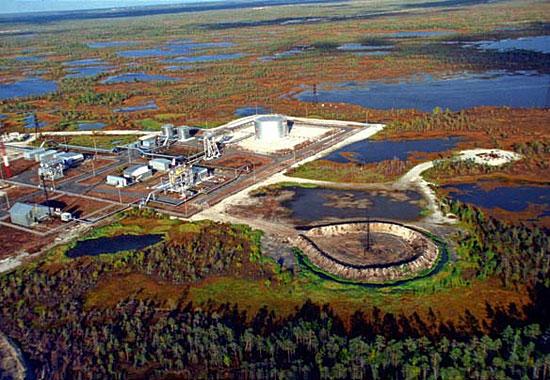 Добыча нефти в Сибири