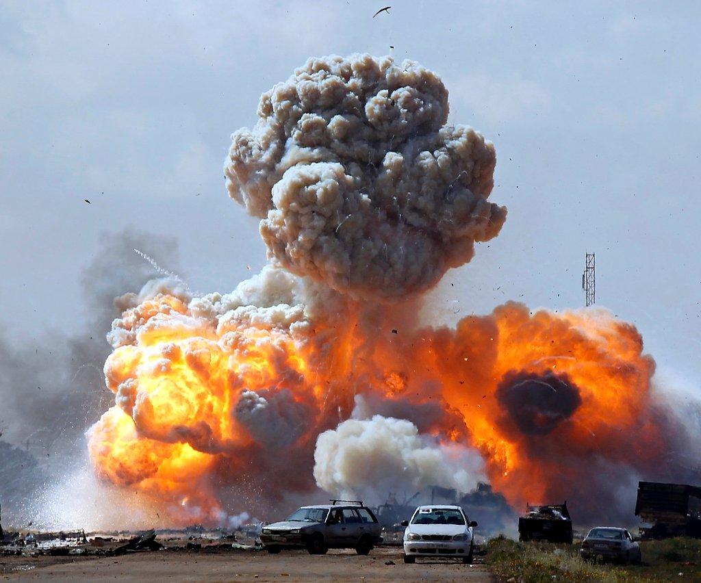 Бомбёжка Ливии томагавками1