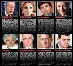 Лондонские птенцы гнезда Тони и Каддафи