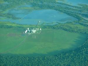аза системы «Эшелон» рядом с австралийским городом Дарвин