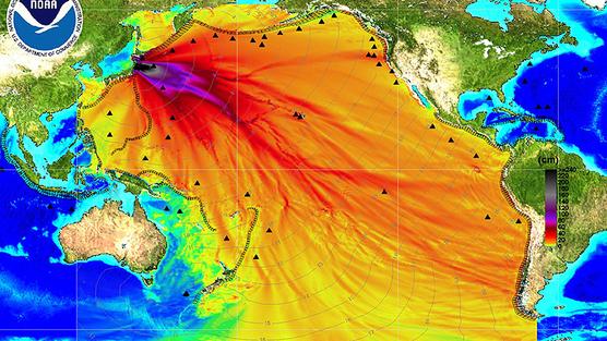 Радиоактивное загрязнение тихого океана выбросами с Фукусимы