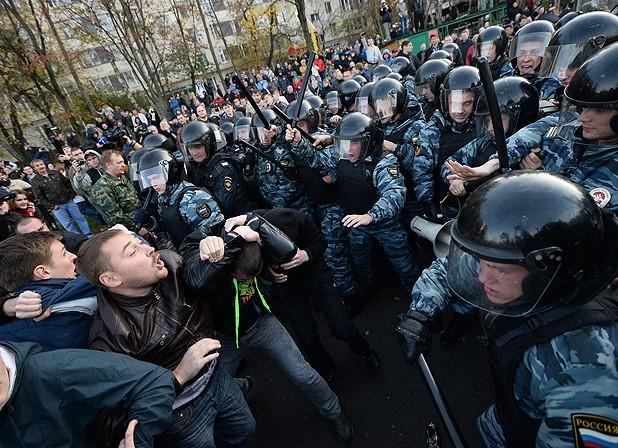 народный гнев в Бирюлево