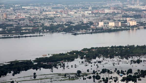 наводнение в амурской области, дети