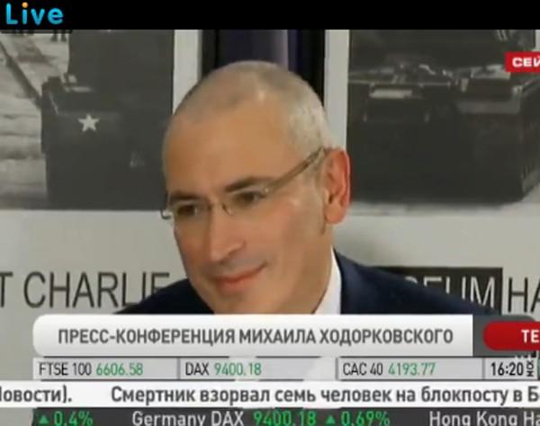 ходорковского выпустили