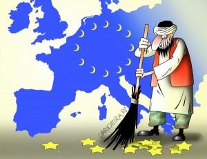 исламизация европы, скандал M&S великобритания
