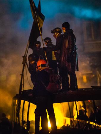 Киев превратился в дантовский ад