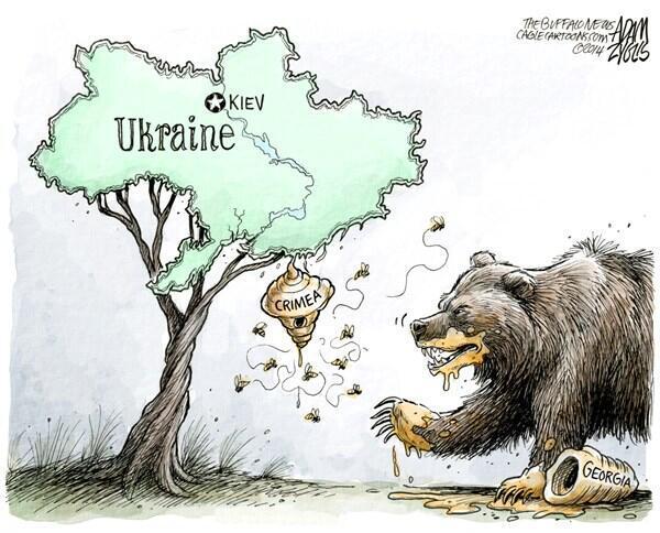 аннексия крыма и революция в украине