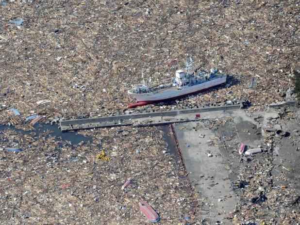 острова из мусора в тихом океане
