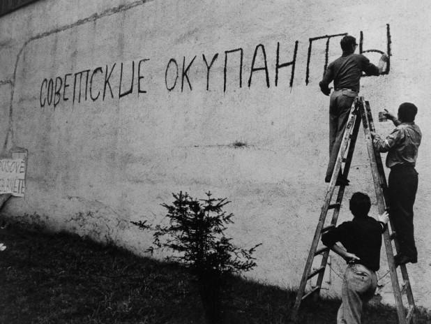 вторжение в чехословакию фото