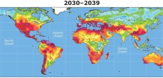 Через 15-20 лет засуха на Земле появится там, где ее раньше не было.