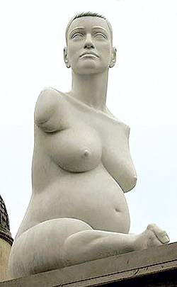 Памятник жертвам талидомида в Лондон