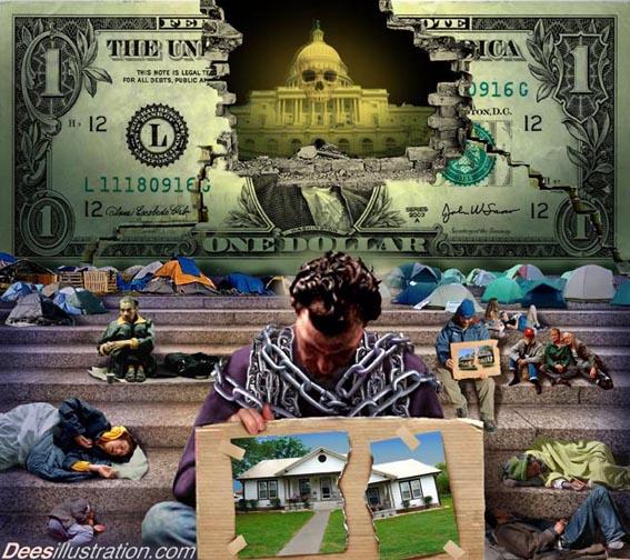 3-я мировая война, крах США