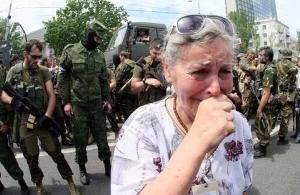 террористы ДНР в донецке