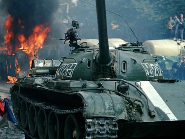 вторжение ссср в чехословакию